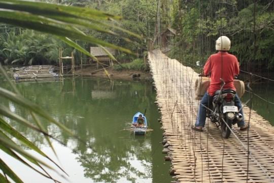 Bamboo Bridge Batukaras