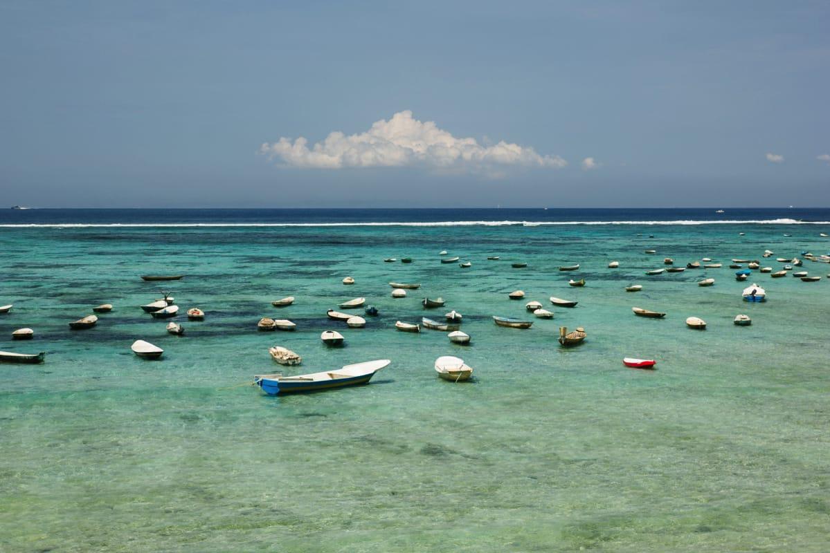 Nusa Penida boats