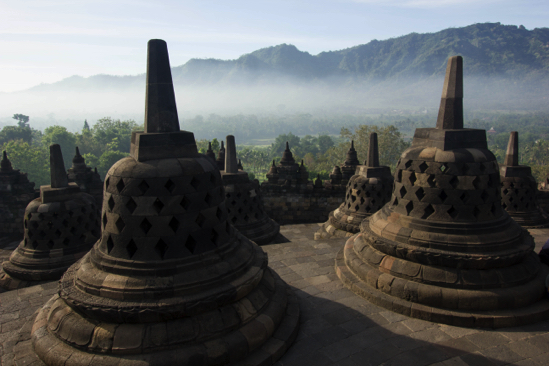 Borobodur View