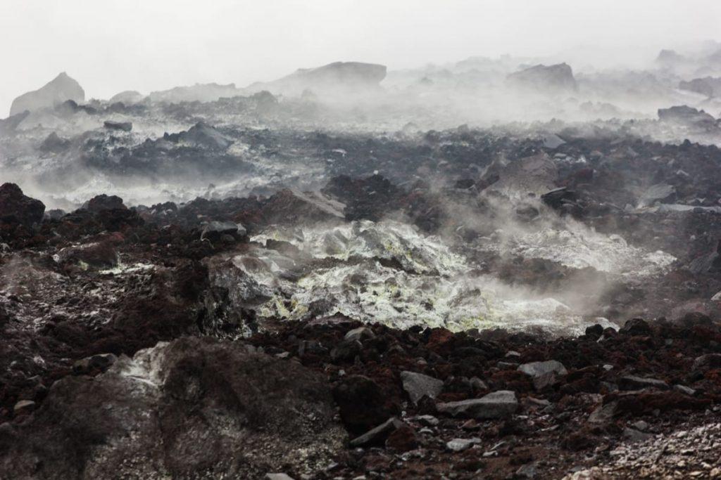Krakatau smoking