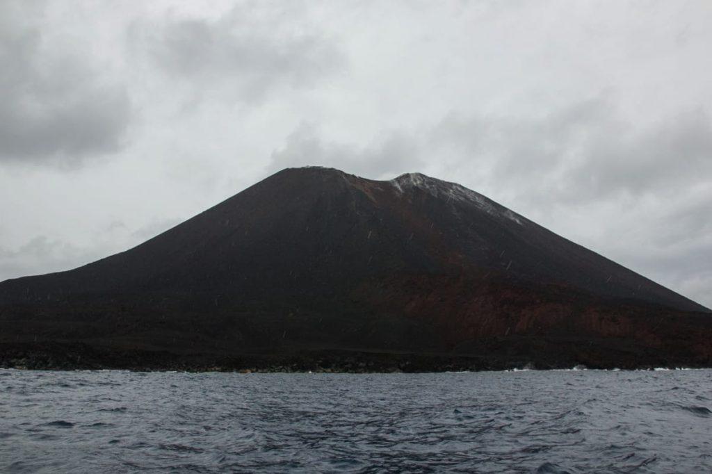 Krakatau rain