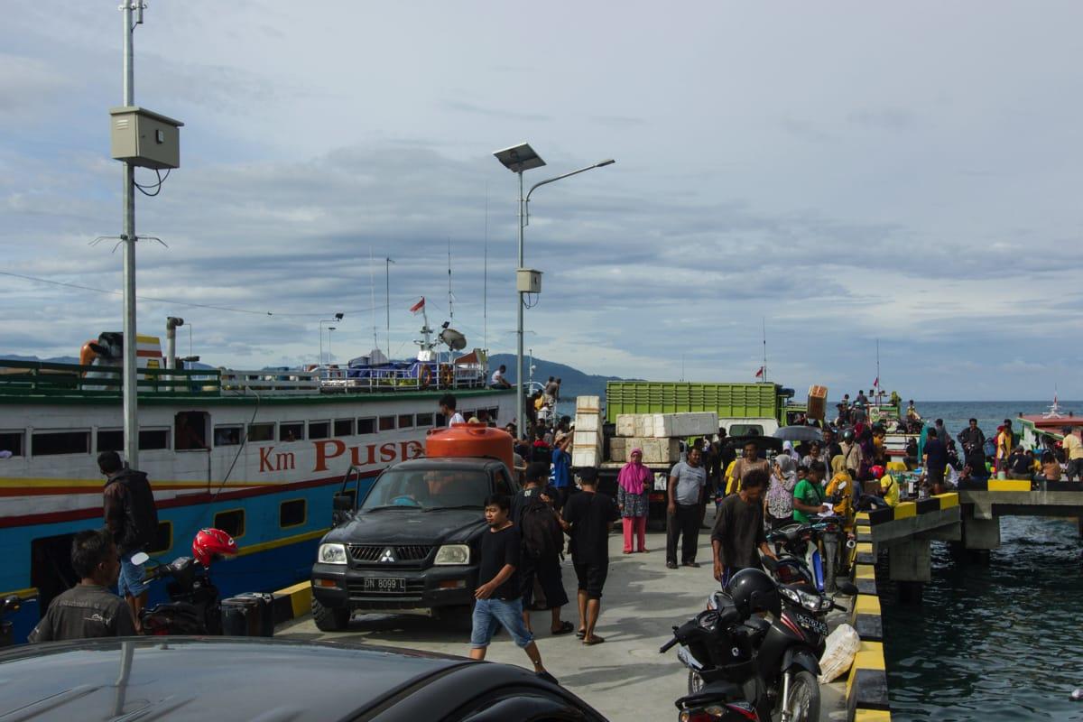 Ampana boat togean