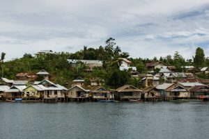 Togean village