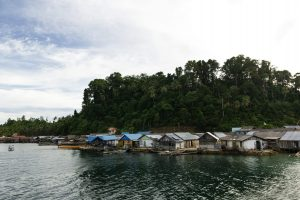 Tomken village Togean