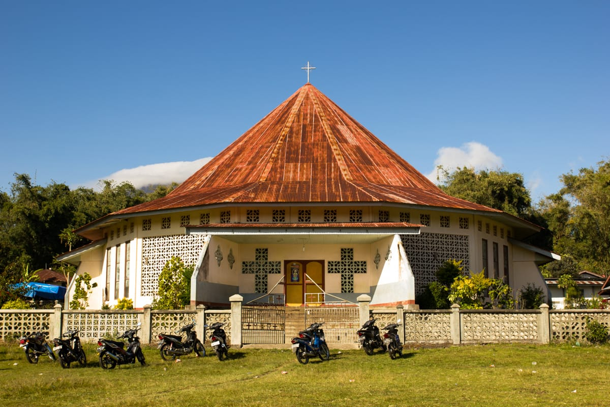 Bajawa church