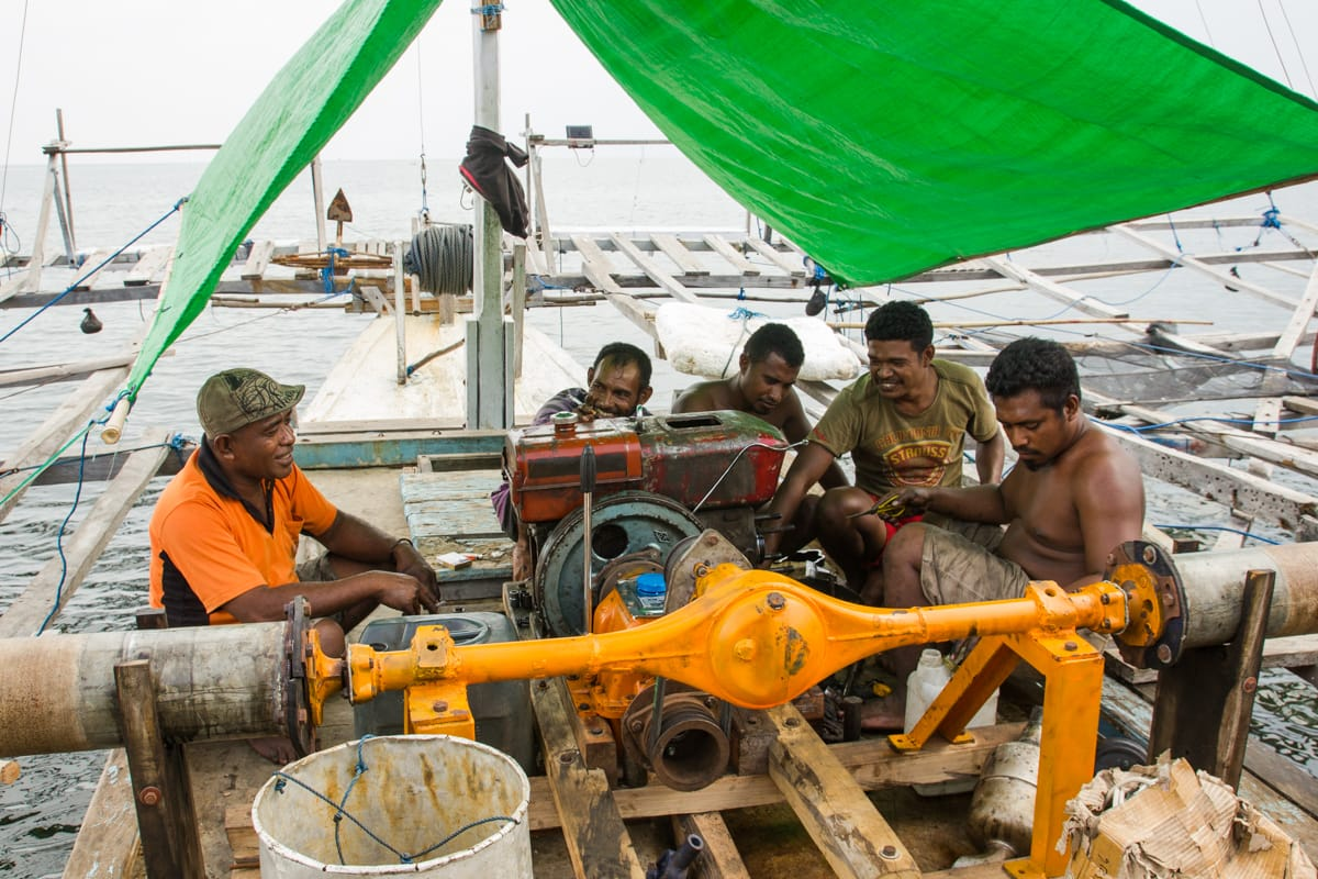 Maumere fisherman