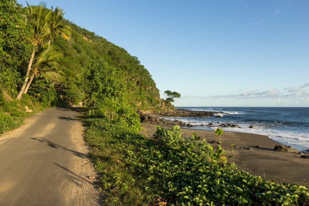 Sikka coastal road