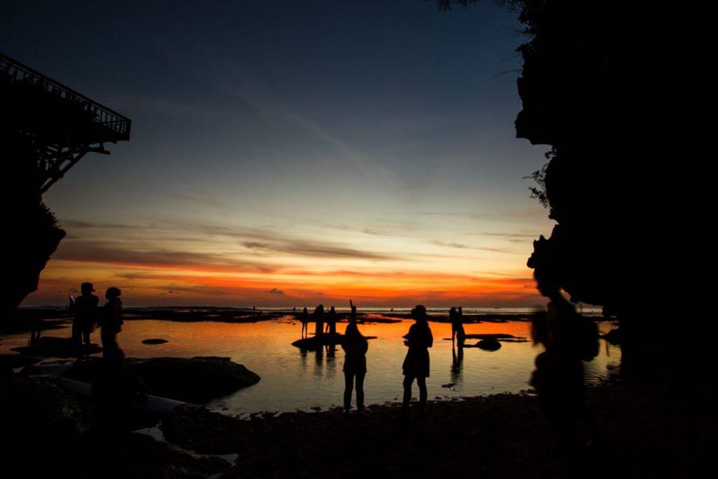 Sunset Suluban Bali