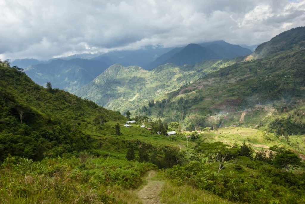 Angguruk Baliem valley