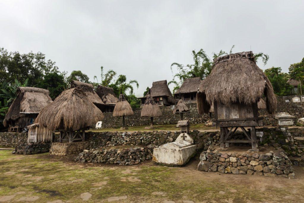 Luba village Bajawa