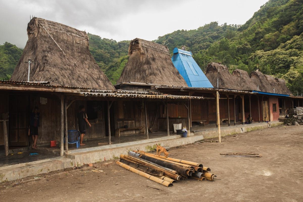 Ngio village Bajawa