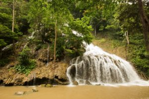 Laipopu waterfall Sumba
