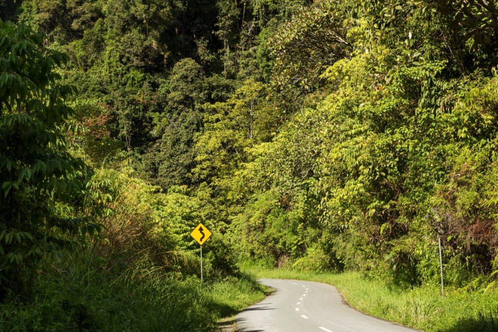Tapan road Kerinci