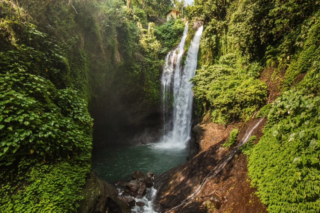 Aling Aling waterfall Bali
