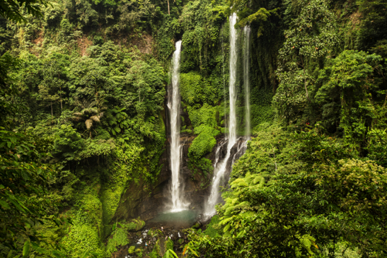 North Bali waterfall