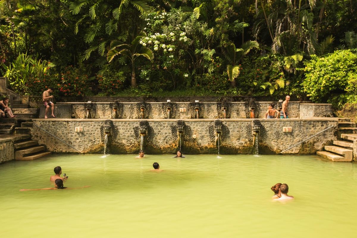 Banjar hotsprings Bali