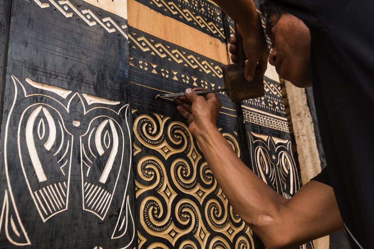 Carving Toraja