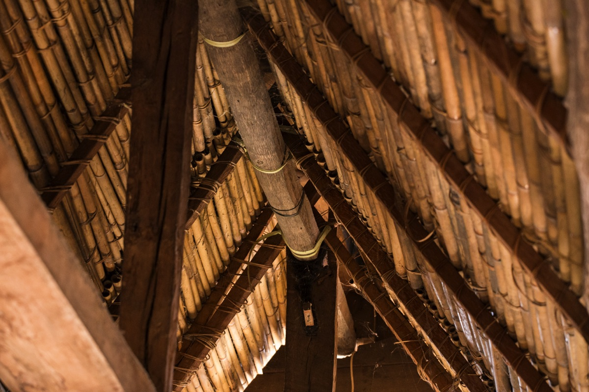 Tongkonan roof Toraja