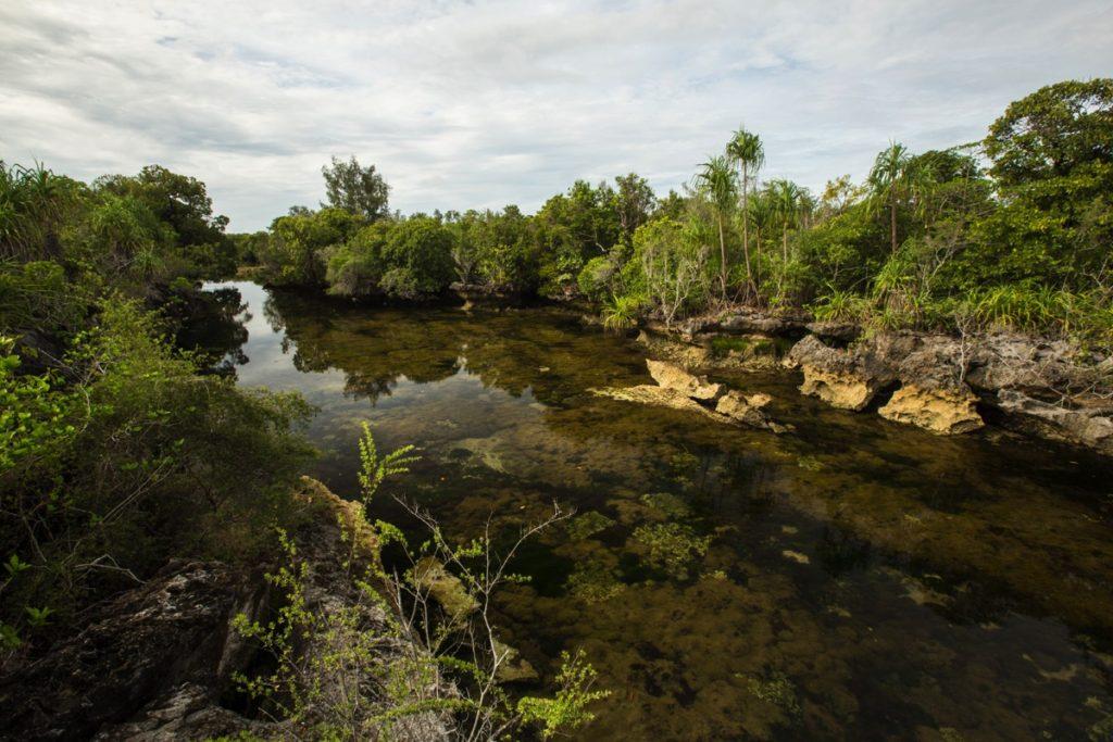 Lake Sombano Kaledupa