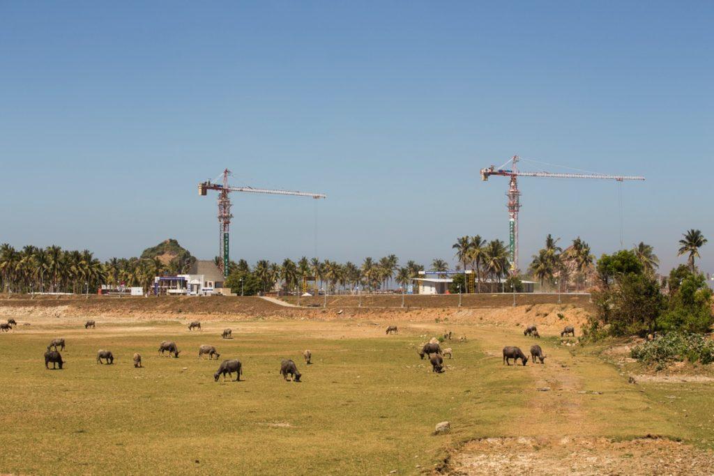 Lombok construction Mandalika