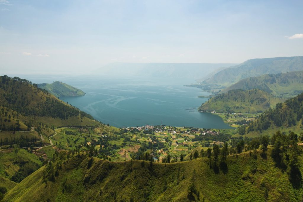 Tongging Lake Toba