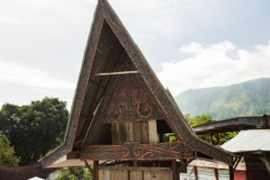 Lake Toba Batak architecture