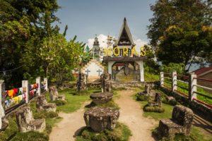 Lake Toba Batak architecture