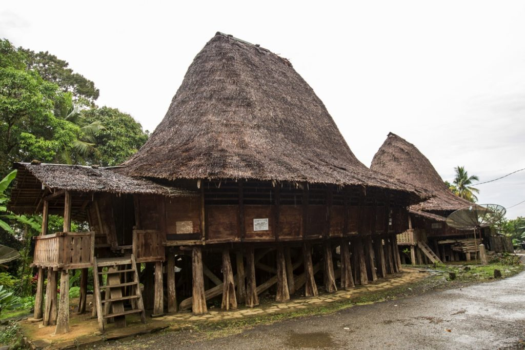 North Nias traditional house