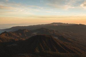 Semeru sunrise view