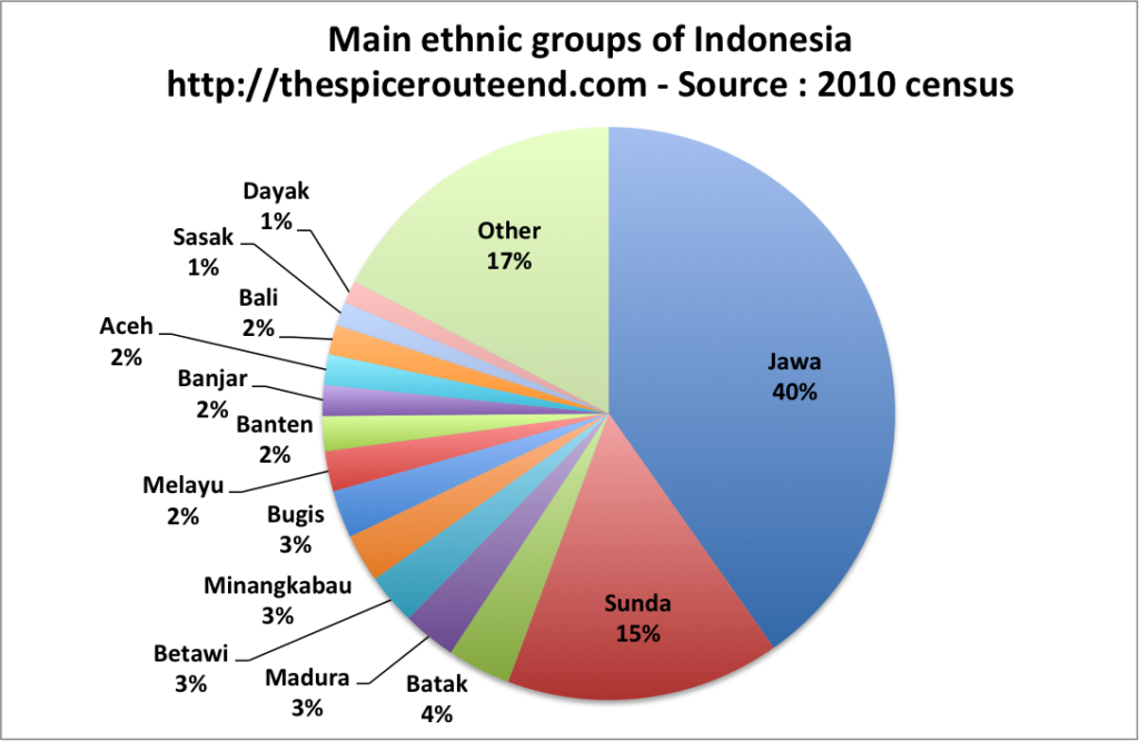 Main ethnic group Indonesia 2010
