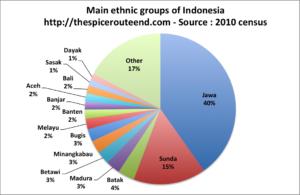 Main ethnic group Indonesia 2010