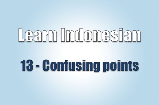 Learn Indonesian