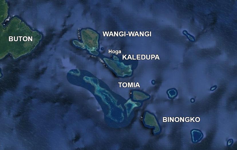 Wakatobi_Map