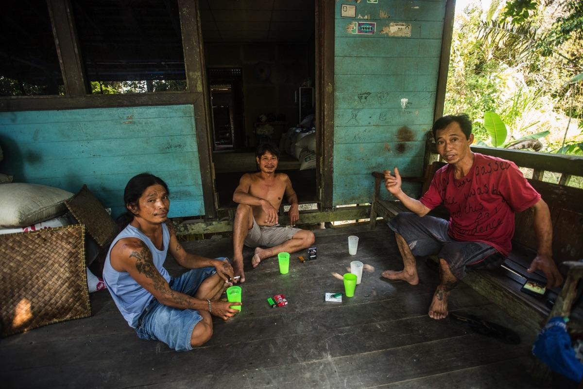Melapi Longhouse Kalimantan