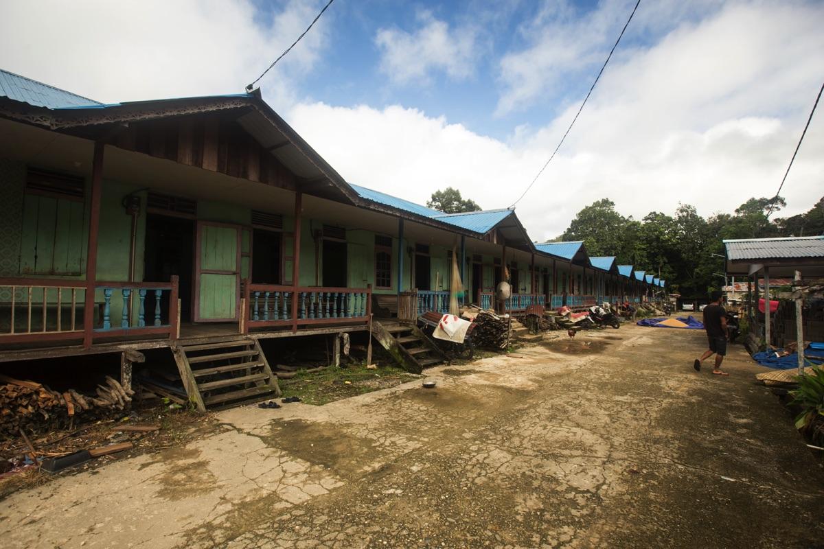 Sadap longhouse
