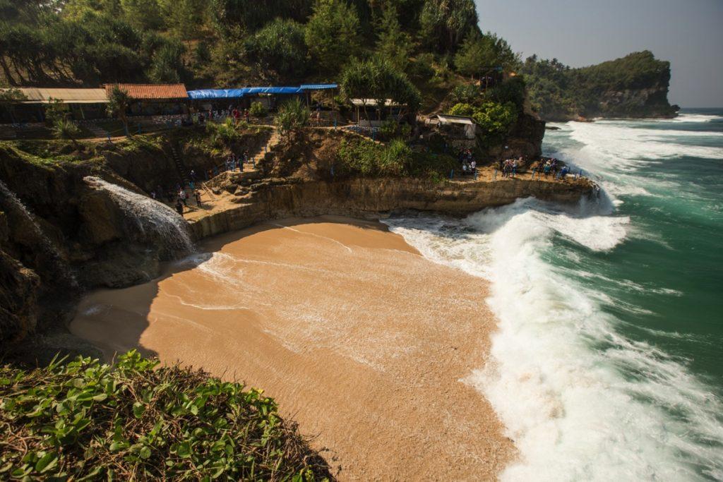 Banyutibo beach Pacitan