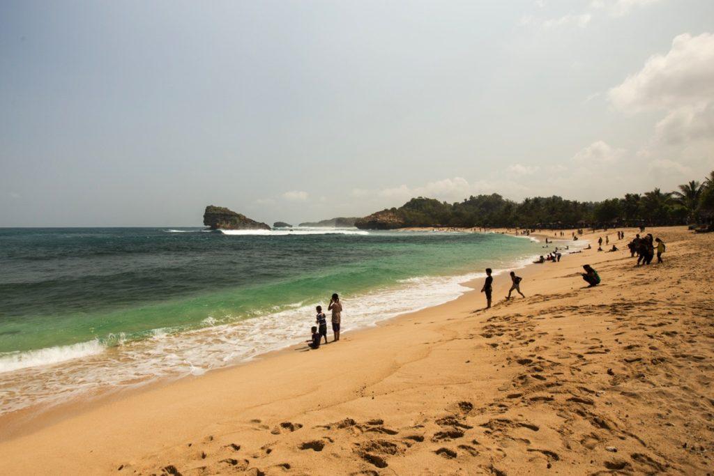 Watukarung beach Pacitan