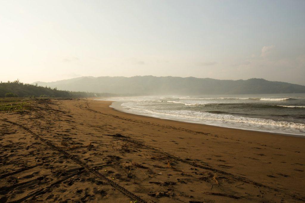 Pacitan beach