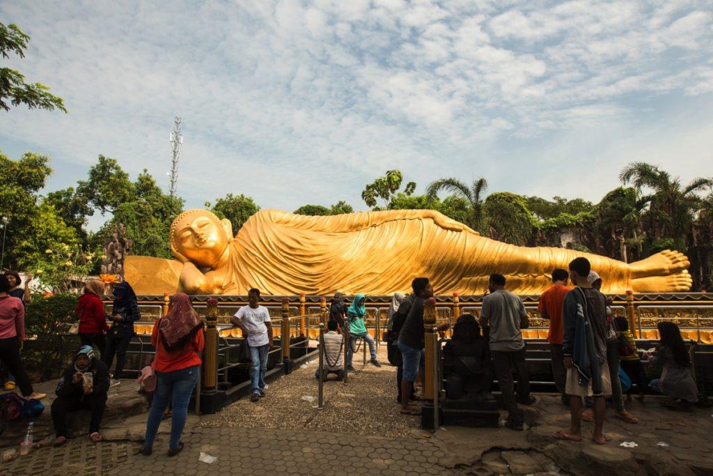 Sleeping Budha Mojokerto