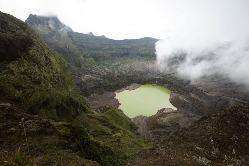 Kelud volcano Java