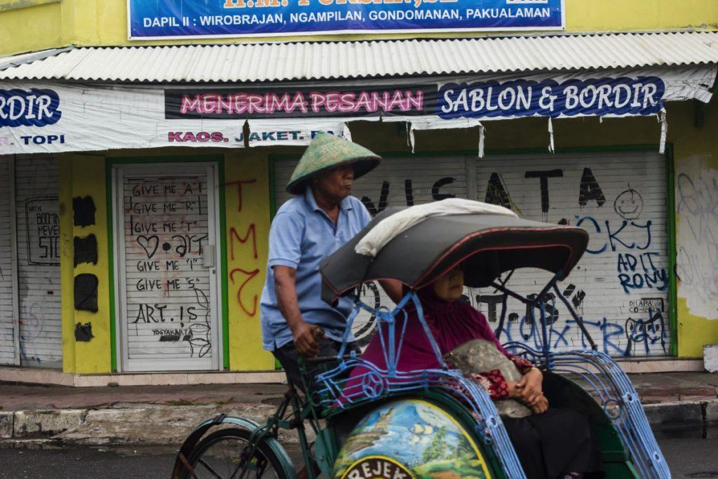 Becak Indonesia