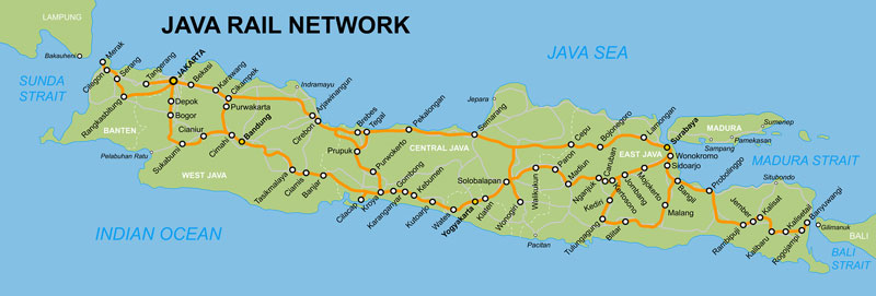Map Train Java