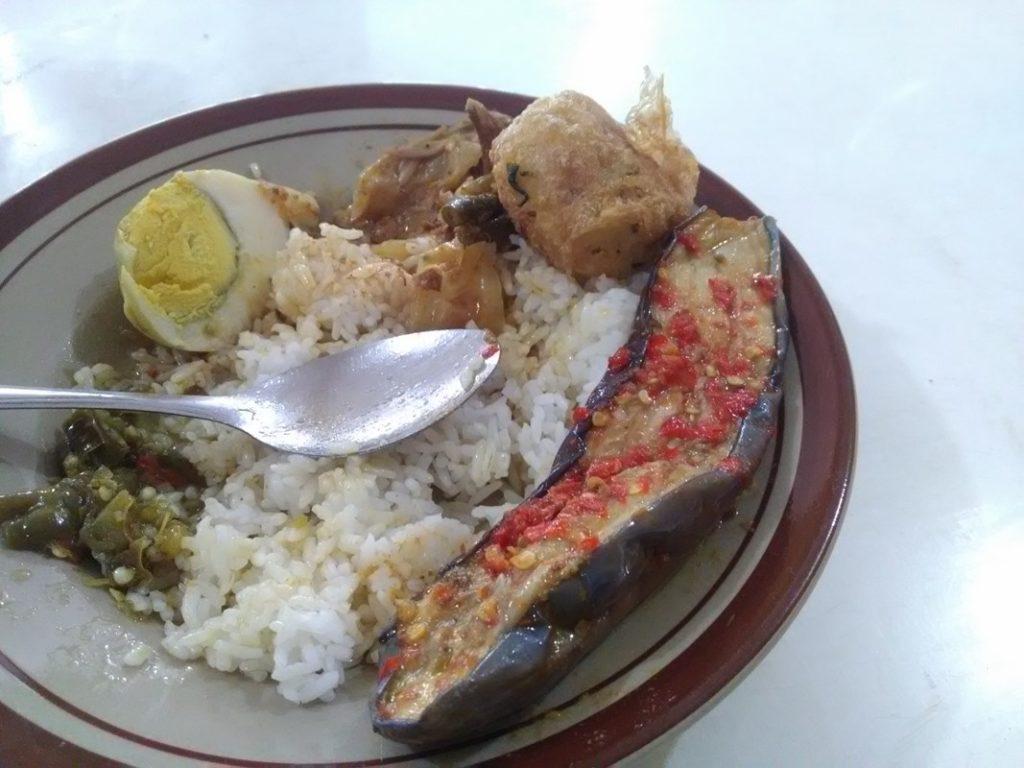 Nasi Terong Balado