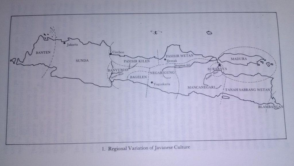 Regional cultures Java